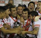 Galeria: A festa do River Plate, campeão da Copa Sul-Americana