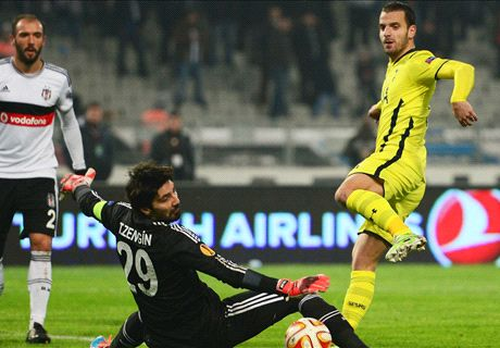 Player Ratings: Besiktas 1-0 Tottenham