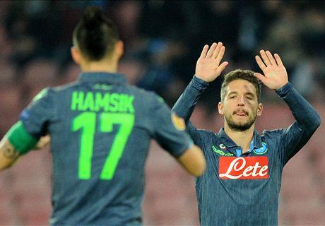 Regardez les exploits de Mertens & Hamsik et tous les buts de l'UEFA Europa League !