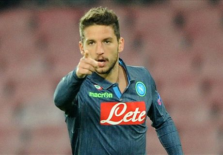 Mertens: Napoli desperate to beat Juve