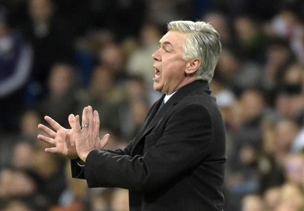 Ancelotti tegaskan Madrid tak akan datangkan pemain baru.