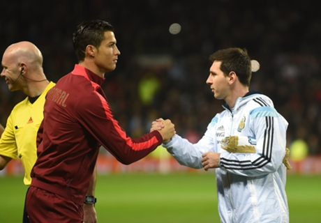 'Ronaldo & Messi should share BdO'