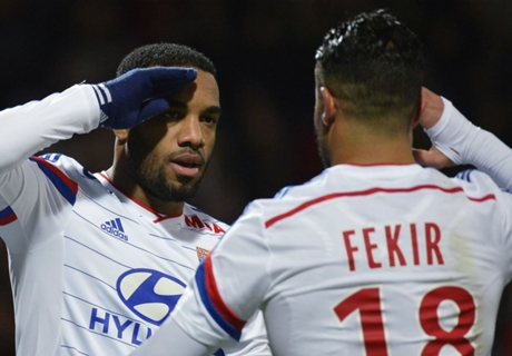 Lyon 3-0 Caen