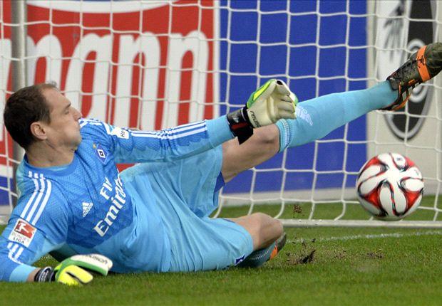 Der Held des Spiels: Torhüter Jaroslav Drobny pariert Daridas Elfmeter