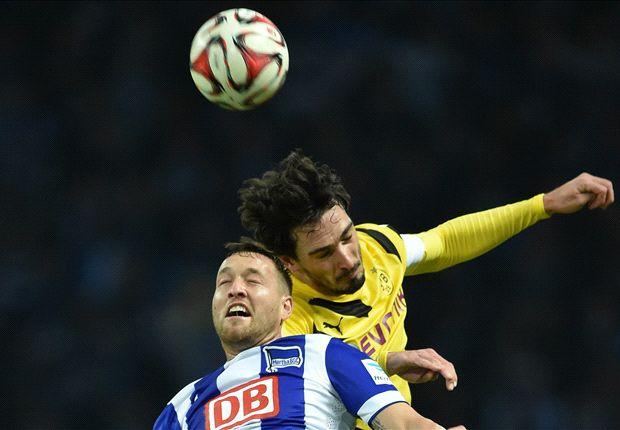 Hertha 1-0 Borussia Dortmund: Schieber returns to haunt BVB
