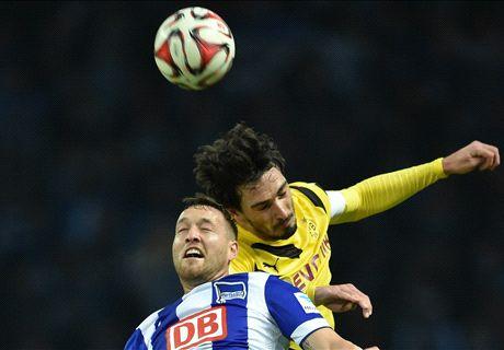 Report: Hertha 1-0 Dortmund