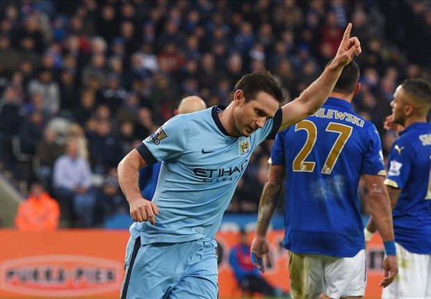 Leicester City 0-1 Manchester City: Lampard winner soured by Kompany injury blow