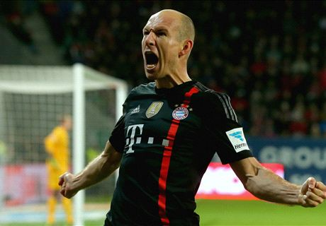 Last-gasp Robben strike downs Mainz