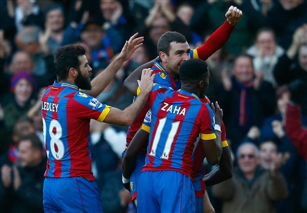 Crystal Palace 1-1 Stoke City: Crouch earns point for Potters
