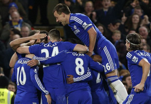 Chelsea 2–0 Hull City: Hazard & Costa help see off 10-man Tigers