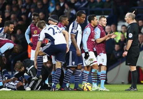 West Brom 1-0 Villa: Gardner scores