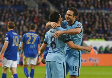 Leicester 0-1 Man City: Lampard steps up