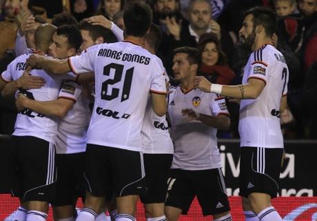 Copa del Rey: Valencia 4-4 Rayo