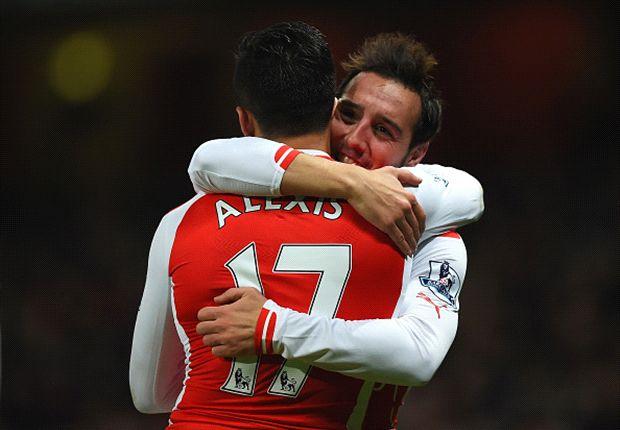 Arsenal 4-1 Newcastle: Santi Cazorla y Olivier Giroud cuentan doble