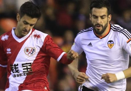 Laporan: Valencia 3-0 Rayo Vallecano