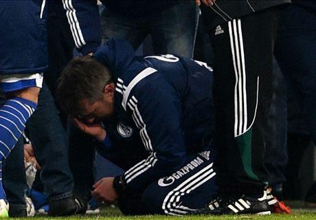 Allemagne : l'adjoint de Schalke 04 blessé à la tête