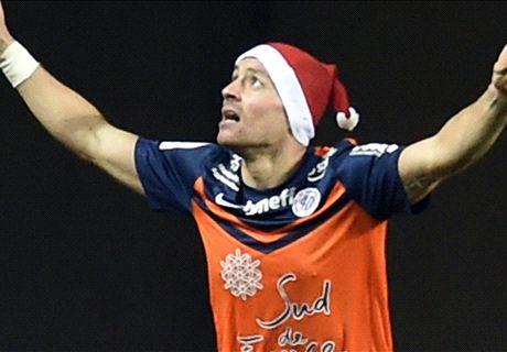 MHSC, Mounier et son bonnet de Père Noël