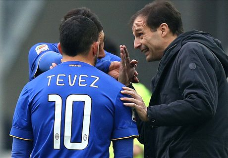 Juve must be more clinical, says Allegri