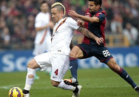 FT: Genoa 0-1 Roma