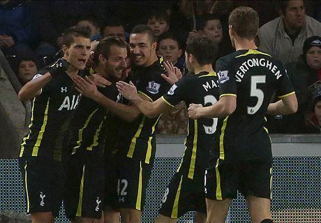 Swansea 1-2 Tottenham: Late win