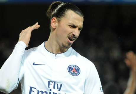 Ibra anger at second place in poll