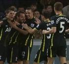 Tottenham lo ganó sobre el final
