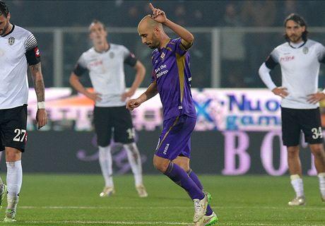 Riecco la vera Fiorentina: poker al Cesena
