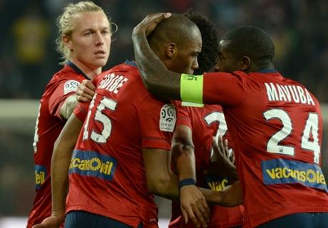 Ligue 1: Lille Sudahi Puasa Kemenangan