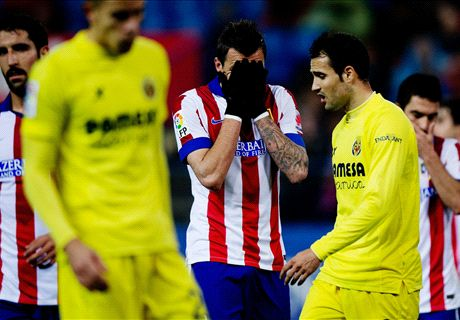 FT: Atletico Madrid 0-1 Villarreal