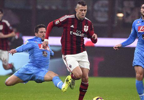 Résumé de match, Milan-Naples (2-0)