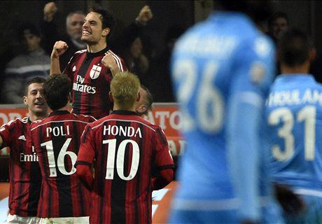 Serie A: Milan 2-0 Nápoles