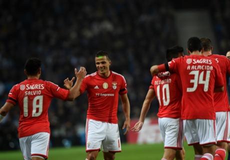 Benfica, más líder que nunca