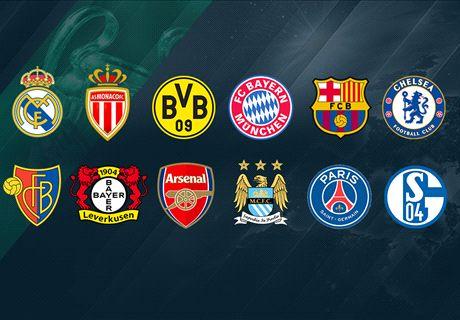 Así quedo el sorteo de Champions League