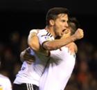 Résumé de match, Valence-Rayo Vallecano (4-4)