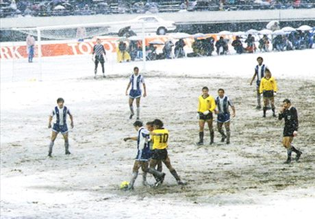 Madjer & Porto's battle with the cold
