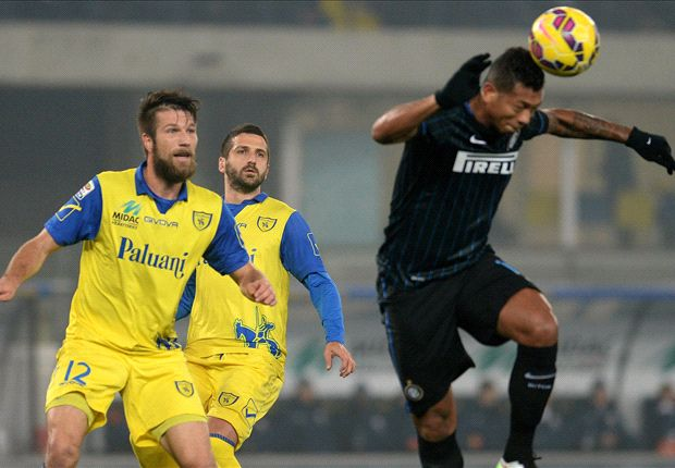 Chievo 0-2 Inter: Mancini picks up first Serie A win
