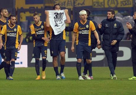 Serie A EdT: Toni und Menez stürmen