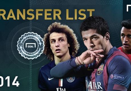 GALERÍA: Goal Transfer List 2014