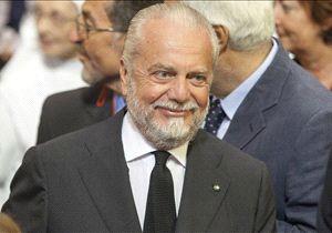 Terzo trionfo da presidente del Napoli per De Laurentiis