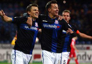 Gegen Heidenheim bejubelte der FSV Frankfurt den ersten Heimsieg der Saison