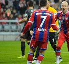 Bayern 2-0 Freiburg: Robben gets 100th