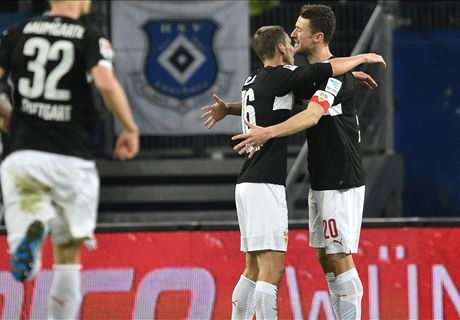 Stevens feiert VfB-Dreier in Hamburg