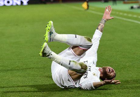 La prueba del algodón para Sergio Ramos