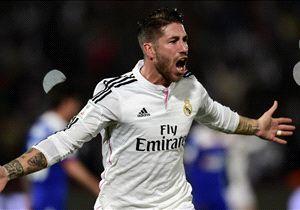 Ramos, en el partido ante Cruz Azul
