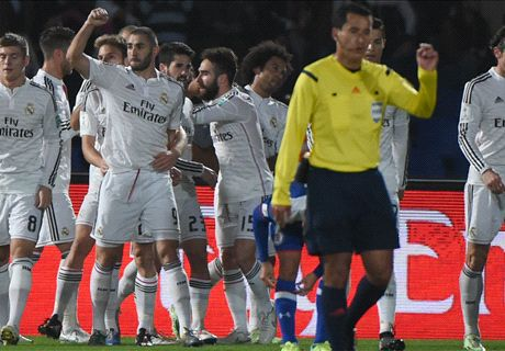 Madrid now the best team in the world