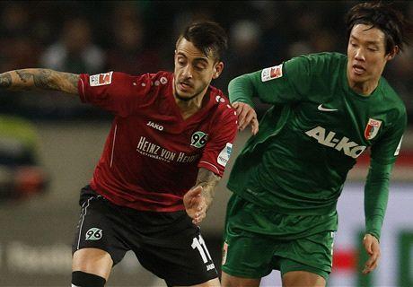 Augsburg verliert auch in Hannover