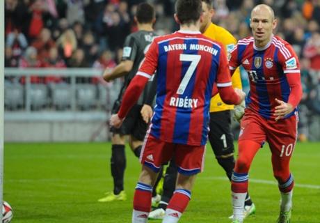 EdT: Jubilar Robben, ungekrönter Ciro