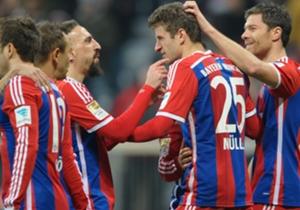 Der 16. Spieltag bot bekannte Bilder. Der FC Bayern jubelte und ließ dem Gegner keine Chance. Der Herbstmeister blieb auch im letzten Heimspiel des Jahres souverän.