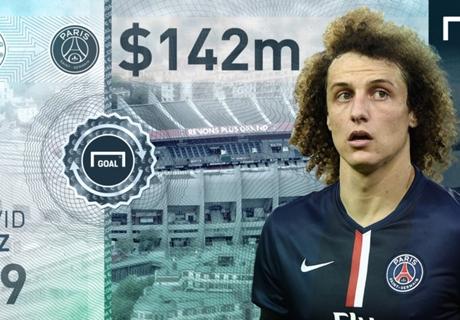 David Luiz: carisma ajuda fora de campo