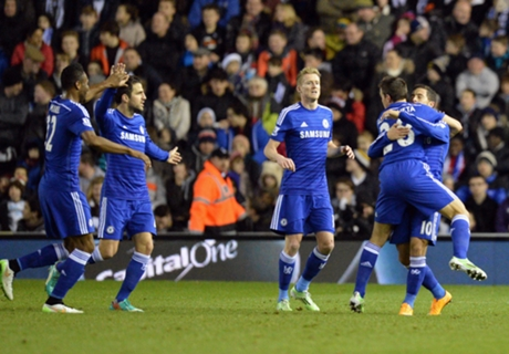 Capital One Cup: Derby 1-3 Chelsea